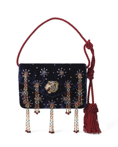 Broadway Rajah-Flap Evening Shoulder Bag