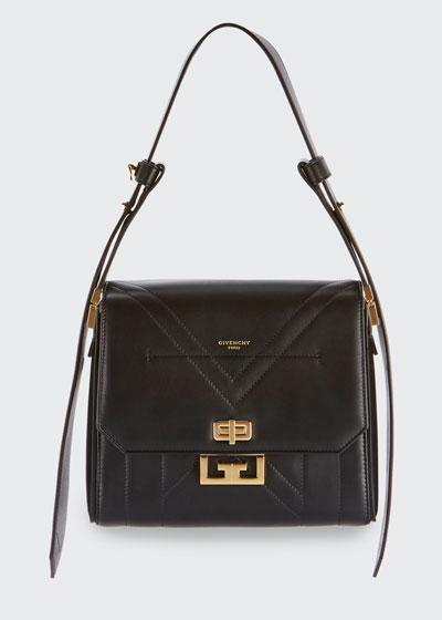 Eden Medium Smooth Leather Shoulder Bag