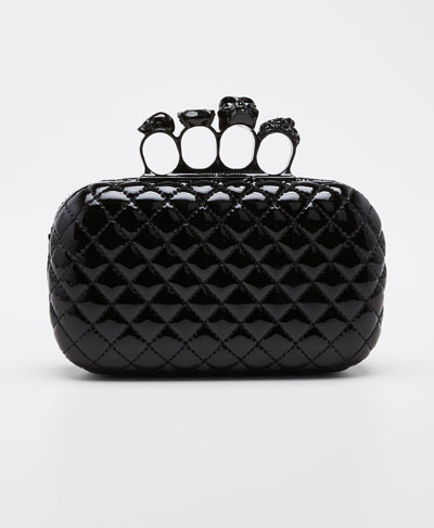 Paper Quilted Clutch Bag