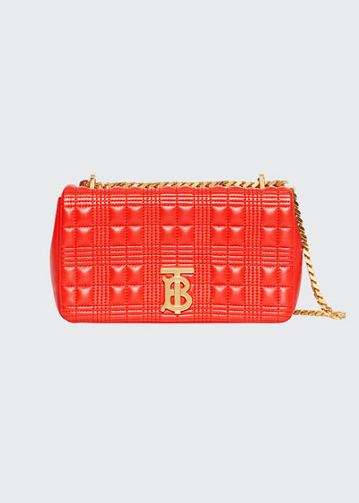 TB Soft Quilted Crossbody Bag