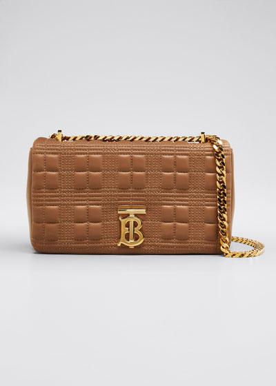 Small TB Soft Crossbody Bag, Camel