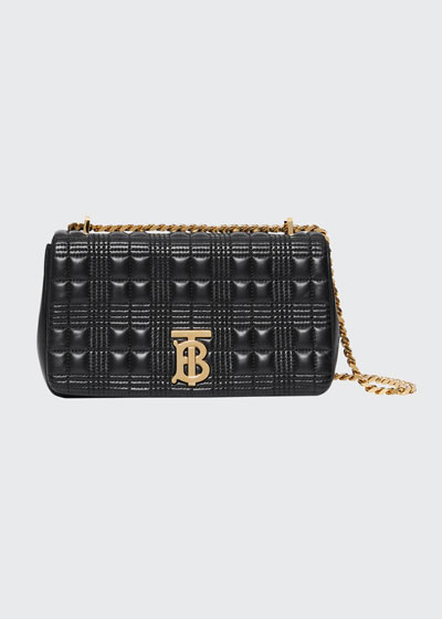 Small TB Soft Crossbody Bag, Black
