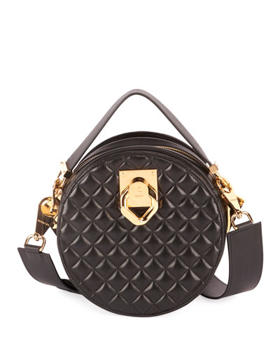 Twist Quilted Lambskin Crossbody Bag
