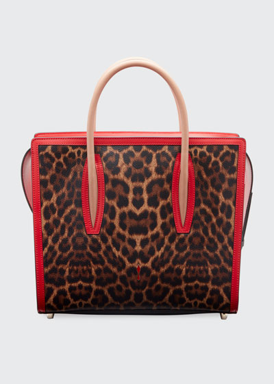 Paloma Medium Empire Leopard Tote Bag