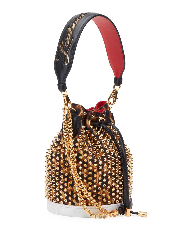 Christian Louboutin Bags MARIE JANE LOUBIRUN BUCKET BAG