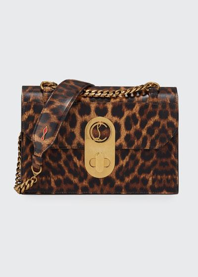 Elisa Small Leopard Shoulder Bag