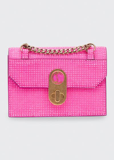 Elisa Mini Suede Crystal Electric Shoulder Bag