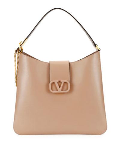 VSling Box Calf Hobo Bag