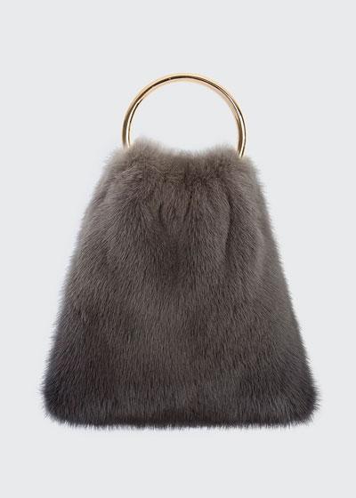 Furrissima Mink Top Handle Bag
