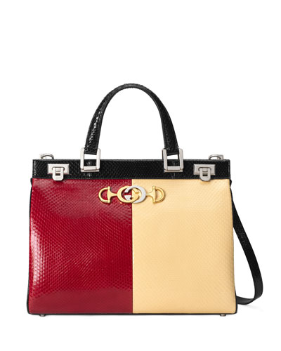Zumi Medium Colorblock Top Handle Bag