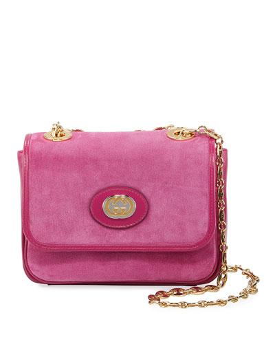 Marina Mini Suede Shoulder Bag Bag