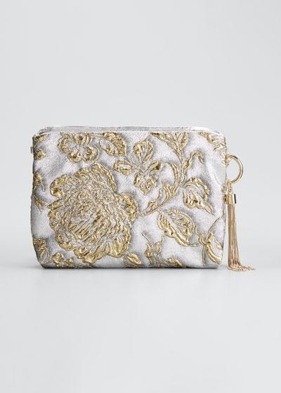 Callie Brocade Clutch Bag