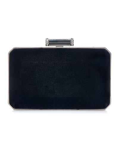 Soho Velvet Clutch Bag