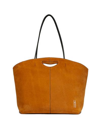 1712 Suede Tote Bag