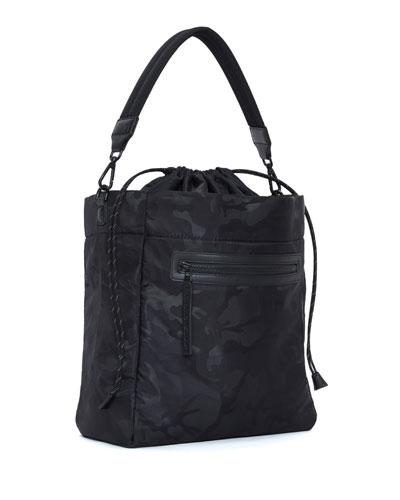 Swing Camo-Print Shoulder Bag