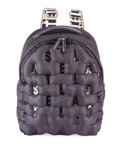 Falabella Puff Nylon Logo Backpack Bag