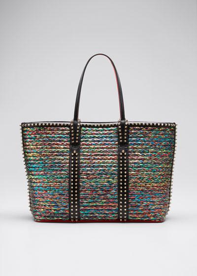 Cabata Multicolor Woven Straw Tote Bag
