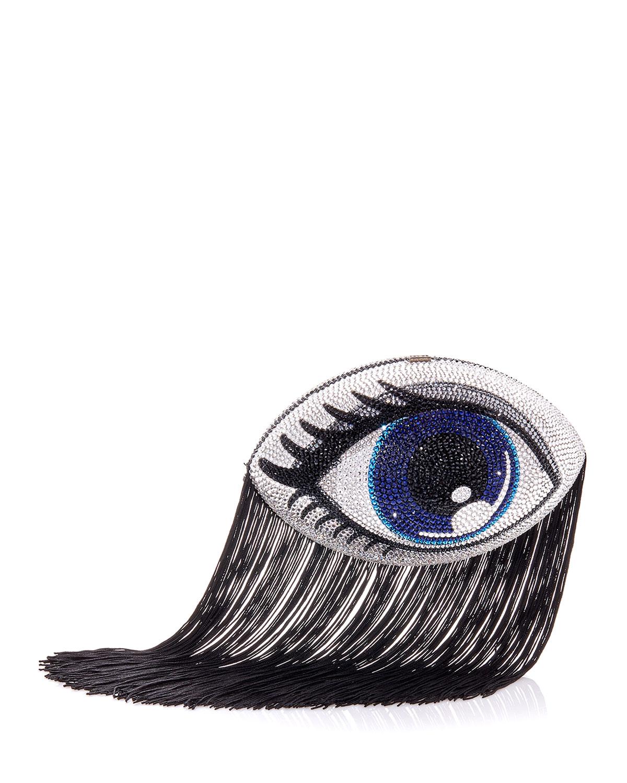 Judith Leiber Jewelry BLINKIE FOOTBALL COLLECTOR'S EDITION CRYSTAL CLUTCH BAG