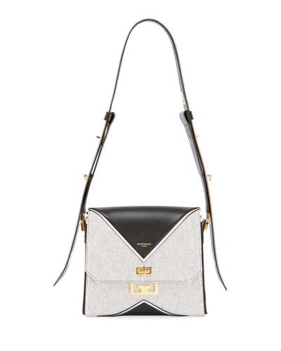 Eden Medium Canvas Shoulder Bag