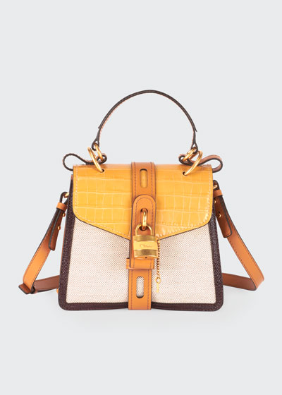 Aby Small Canvas Day Shoulder Bag