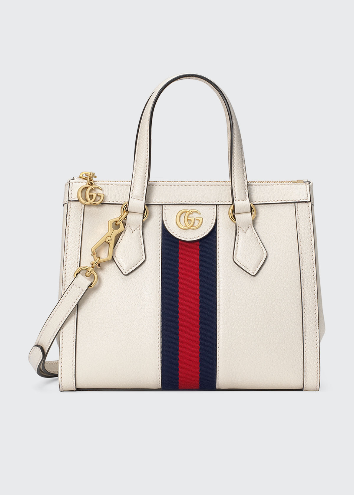 Gucci Totes OPHIDIA SMALL LEATHER TOTE BAG