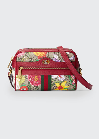 Ophidia Mini GG Flora Crossbody Bag