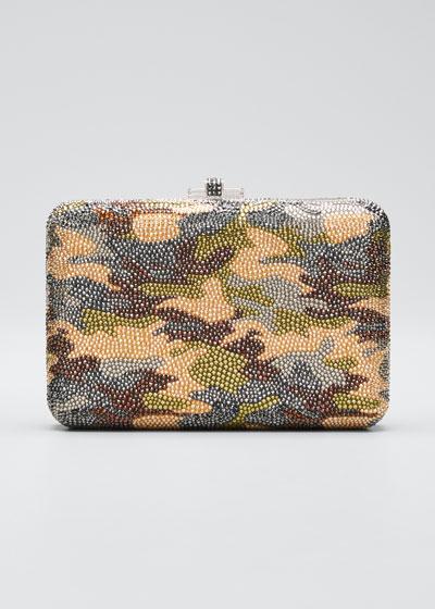 Slim Slide Camouflage Clutch Bag