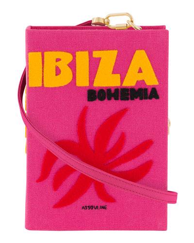 Ibiza Strapped Book Clutch Bag
