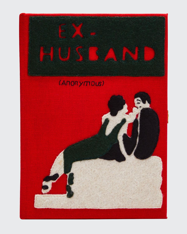 Olympia Le-Tan Clutch MINI EX HUSBAND BOOK CLUTCH BAG