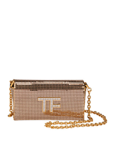 Metal Mesh Mini Crossbody Bag