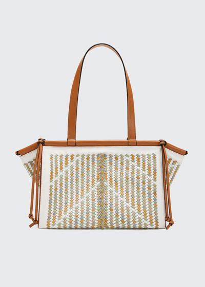 Cushion Small Woven Tote Bag