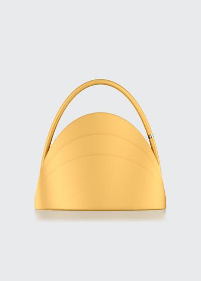 Millefoglie S Mini Leather Top-Handle Bag