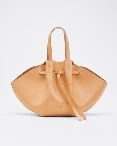 Lynne Leather Mini Tote Bag