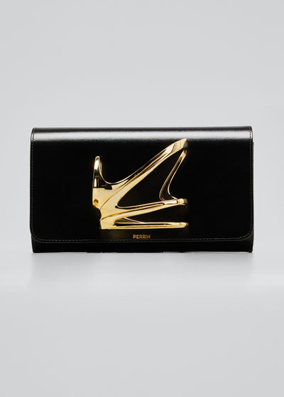 x Zaha Hadid Glove Clutch Bag