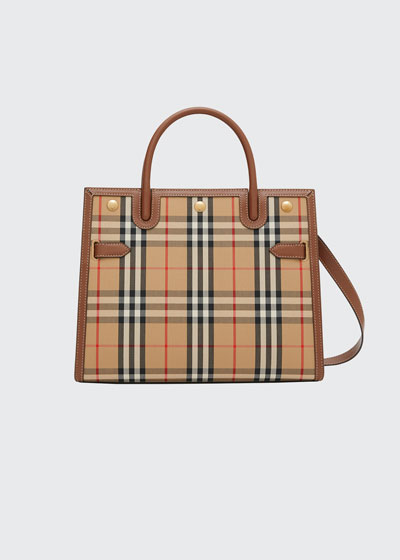 Small Vintage Check Title Bag