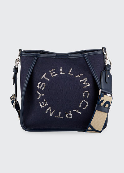 Mini Logo Crossbody Tote Bag
