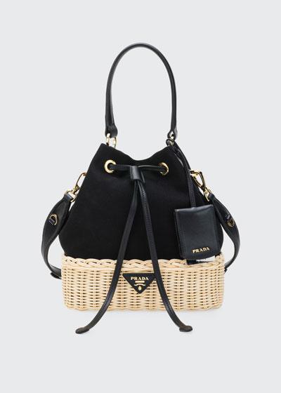 Midollino Canapa Bucket Bag