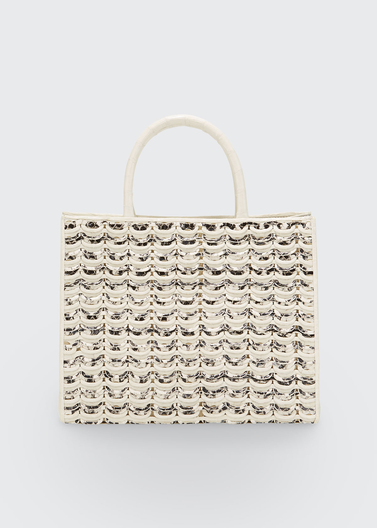 Nancy Gonzalez LIMITED-EDITION EMMA SMALL WOVEN TOTE BAG