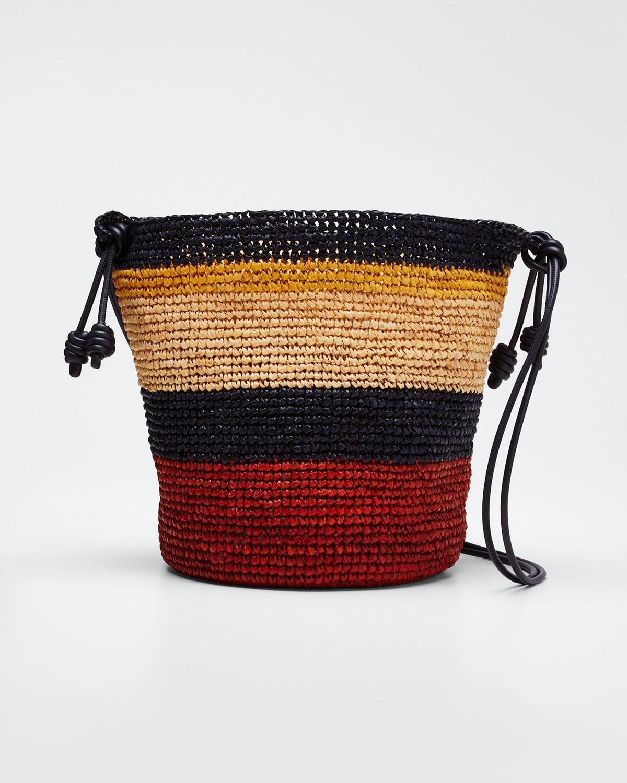 Ulla Johnson Bags RAFFIA SAMARIA SLING BAG