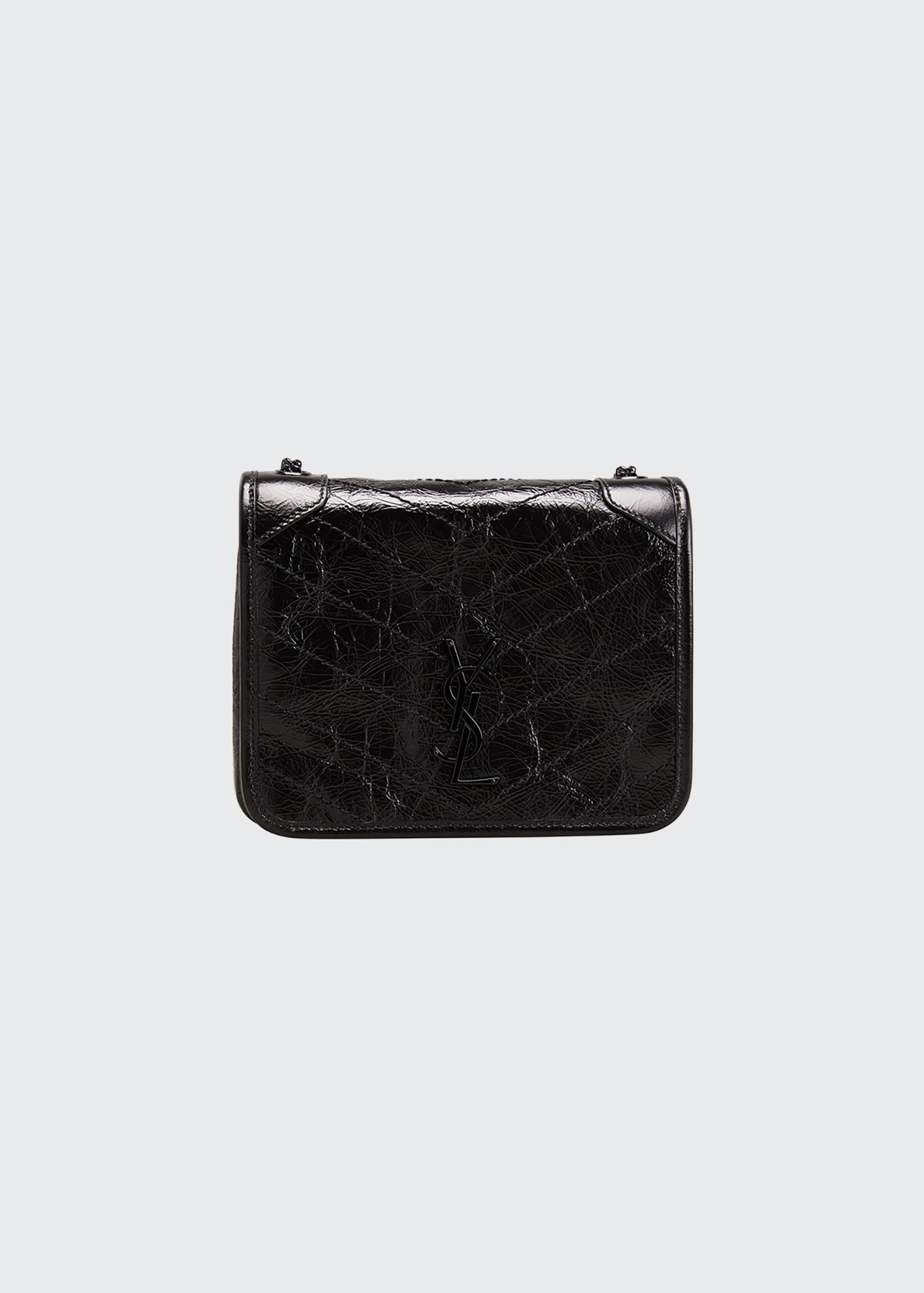 Saint Laurent Wallets TEXTURED LEATHER WALLET
