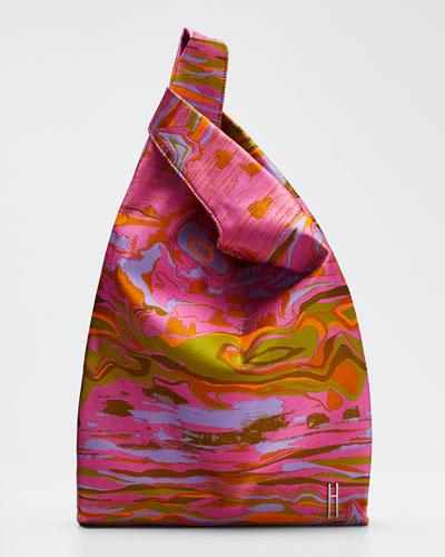 Mars Acid Landscape Jacquard Shopper Bag