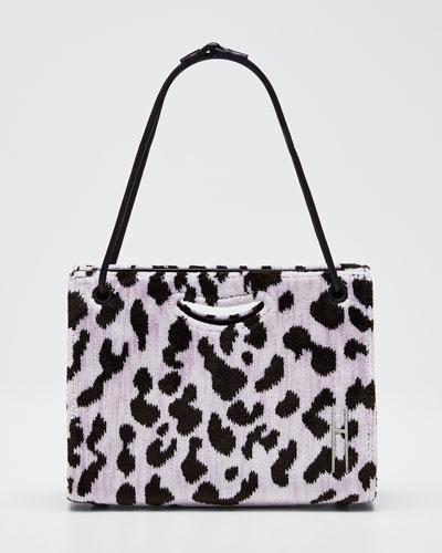 Mini 1712 Peony Leopard Clutch Bag
