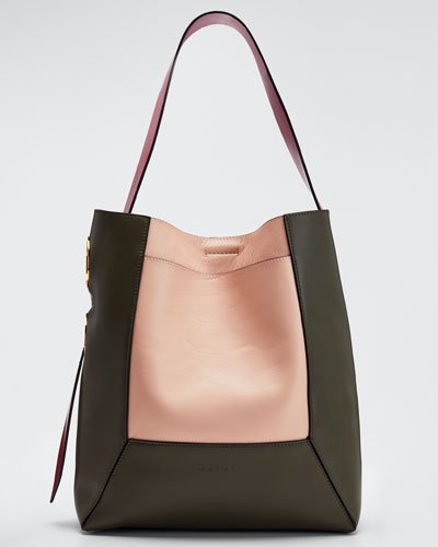 Nemo Colorblock Tote Bag