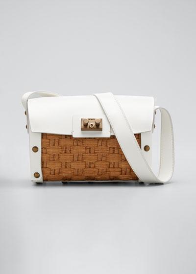 Raffia Woven Shoulder Bag