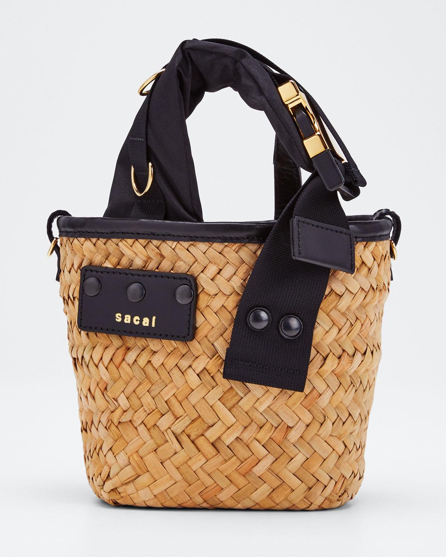 Sacai Bags HYBRID MARCHE MICRO BAG