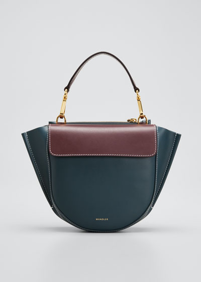 Hortensia Bicolor Mini Top-Handle Bag