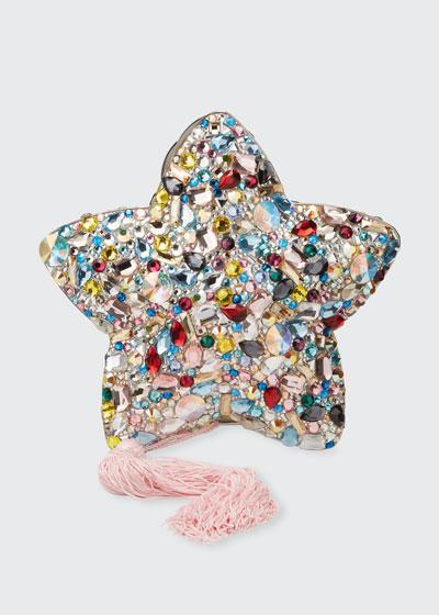 Star Eclipse Crystal Clutch Bag