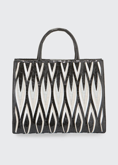 Emma Small Cutout Tote Bag