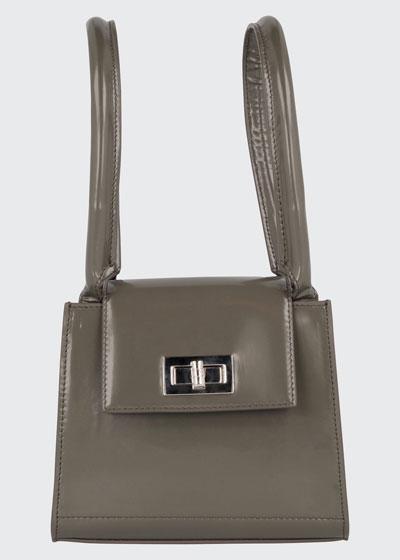 Sabrina Patent Tote Bag