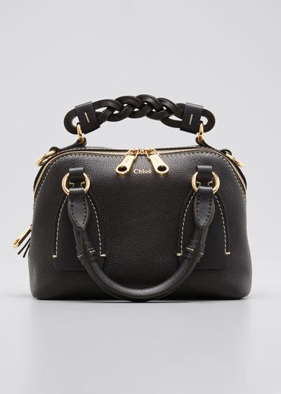 Daria Medium Leather Shoulder Bag